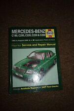 Haynes Mercedes C180 C200 C220 C230 & C250 Manual 1993-Aug 2000 Number 3511 Used