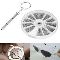 600pcs Tiny Micro Clock Watch Screwdriver For Small Eye Glasses Repair Kit Tool