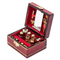 1*Miniature Fairy Ornament Decor Filled Jewelry Box Decor DIY Crafts Accessories