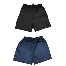 Mens Football Shorts Jogging Fitness Gym Sports Tech Running Breathable Training