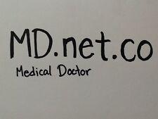 Md.net.co Premium Rare  LL.net.co Domain Name Godaddy  doctors domain medical