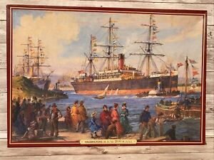 Waddingtons De Luxe 2000 pc Jigsaw Puzzle Welcome Home by Ellis Silas Ships