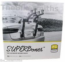 Saris SuperBones 3 Bike Car Rack Bicycle Trunk Carrier Black Super Bones OFFER!!