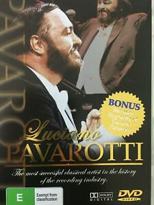 LUCIANO PAVAROTTI - Selected Highlights / Best Of DVD AS NEW!
