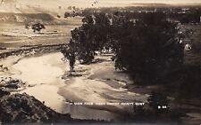 Ismay AKA Joe Montana~Custer County~Birdseye View Creek~Livestock Pens~1908 RPPC