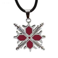 Fashion Anime Vampire Knight Kiryu Zero Cross Metal Pendant Necklace Jewelry New
