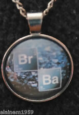 "Breaking Bad Cabachon glass dome Necklace Pendant.20"" chain"