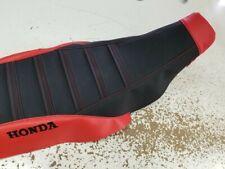 HONDA TRX 450r  TRX450r seat cover STRAP GRIPPER SEAT COVER RED/BLK/GRIPPER/FM