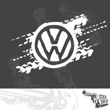 VW - original design - Large - car logo sticker -  2x vinyl stickers 81cm wide