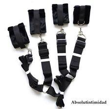 Absolut Intimidad Under Bed Restraint Kit | Sex Bondage Straps & Cuffs System