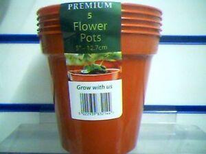 """Flower Pots 3"""" - 5"""" Stewarts Premium Pack Plant Pots"""