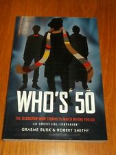 Whos 50 50 Doctor Who Stories to Watch Before You Die (Paperback)< 9781770411661