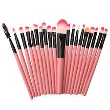 20 Pro Makeup Brushes Set Foundation Powder Eyeshadow Eyeliner Lip Brush Tool