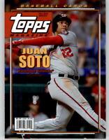2019 Topps Archives Topps Magazine Insert Card TM-9 Juan Soto Nationals