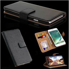 Case For iPhone 6S & 6 Luxury Real Genuine Leather Magnetic Flip Wallet Cover