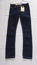 NEW Levi's 711 Boy's Skinny Stretch Dark Jeans 7 Slim NWT $40.