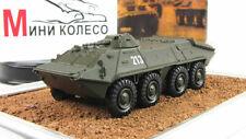 """BTR-70 """"Russian tanks"""" 1972. Diecast Metal model 1:72. GE Fabbri. NEW"""