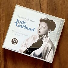 JUDY GARLAND - THE VERY BEST OF - THE CAPITOL RECORDINGS - 3 CDs