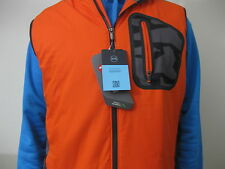 nwt Mens Under Armour Combine Training Vest 37.5 Primaloft Orange Black L