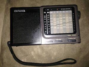 AIWA WR-A100 AM/FM/Shortwave Radio FM/MW/SW Radio Receiver