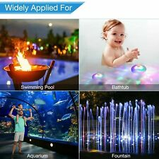More details for uk floating sensory colorful led light underwater lazy spa hot tub swimming pool