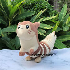 "Cute Furret 17"" Pokemon Center Plush Sentret Evolution Stuffed Toy Soft Doll"