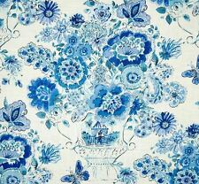 Waverly Dena Home Decor BLISSFUL BOUQUET 900270 BLUEBERRY Drapery Sewing Fabric