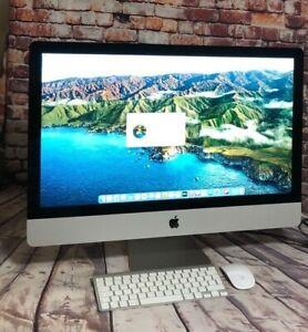 """Apple iMac 27"""" 5k Retina 2014 Quad Core i5 3.5GHz 8GB 1.12TB Fusion Drive SH"""