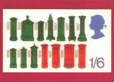 Stampex Postcard, 2002, Depicting Postboxes from 1853 onwards IR9