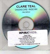 (CH973) Clare Teal, Chasing Cars - 2011 DJ CD