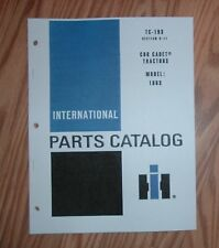 CUB CADET 1863 TRACTOR & ENGINE ILLUSTRATED PARTS LIST