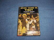 SEVEN YEARS in TIBET by Heinrich Harrer/1st. EdHCDJ/Autobiography/European