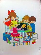 Original Children's Book Illustrations Total of 3