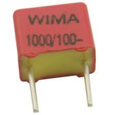 CONDENSATORE POLIPROPILENE 100 V 100pF (confezione da 5)