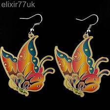 Retrò vintage, orecchini farfalla hippy emo Funky Kitsch Stile farfalle regalo