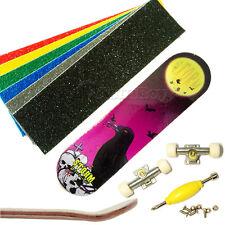 Fingerboard Wooden Maple Extreme Sakte 8# Patttern Anti Slip Tape for Teck Deck