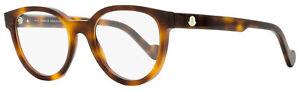 Moncler Oval Eyeglasses ML5041 052 Havana 50mm 5041