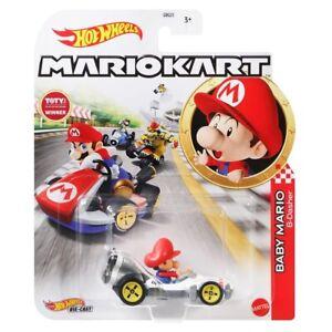 Hot Wheels Mario Kart Baby Mario B Dasher