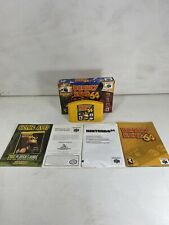 Donkey Kong 64 In Box (Nintendo 64, 1999) With Manual And Expansion Back Booklet