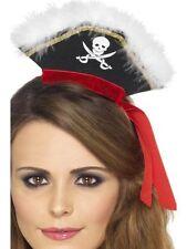 Cappelli e copricapi nero in poliestere per carnevale e teatro dal Regno Unito