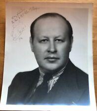 Sir Eugene Goossens Autograph Photo