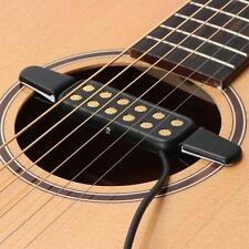 New 3cm Clip-on Acoustic Guitar Pickup Wire Amplifier Speaker Sound 12 Hole