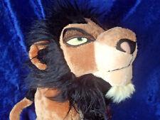 Rare new Disney Store Lion King Scar Plush Soft Toy BNWT Villain