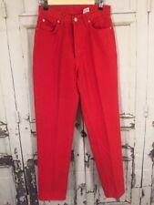 "Vintage Jordache Grunge High Waisted Mom Jeans Tapered Leg Denim SZ 11/12  X 30"""