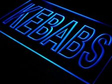 i639-b Kebabs Cafe Enseigne Lumineuse Neon Light Sign