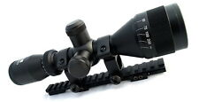 AIM 3-9X40 AO P4 SNIPER SCOPE KIT FOR RUGER MINI 14 30 RANCH RIFLE COMPLETE NEW