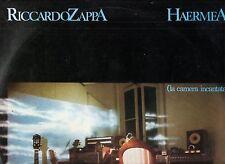 RICCARDO ZAPPA disco LP STAMPA ITALIANA Haermea La camera incantata ITALY 1982