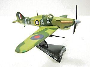 MODEL POWER 5340-2 HURRICANE MKII 1:100 Diecast metal plane New in box