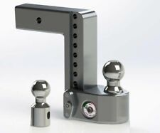 "Weigh Safe - Class 5 Adjustable 8"" Drop Ball Mount for 2-1/2"" Receivers #WS8-2.5"