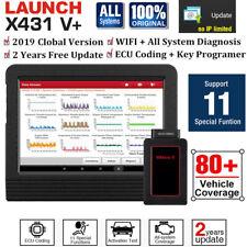 2020 LAUNCH X431 V+ / Creader VII+ OBD2 Auto Diagnostic Scanner Key ECU Coding